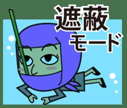 KUNOICHI ninja sticker #909753
