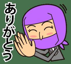 KUNOICHI ninja sticker #909754