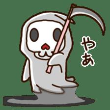 Grim Reaper a B-grade. sticker #910039