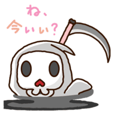 Grim Reaper a B-grade. sticker #910046