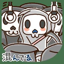 Grim Reaper a B-grade. sticker #910050