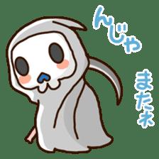 Grim Reaper a B-grade. sticker #910060