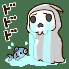 Grim Reaper a B-grade. sticker #910062