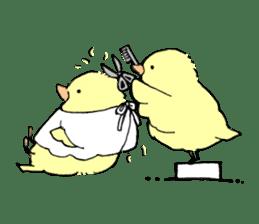 yellow bird sticker #910300