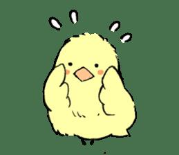 yellow bird sticker #910308