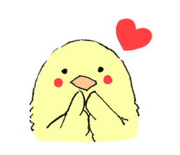 yellow bird sticker #910312