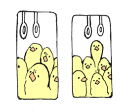yellow bird sticker #910314