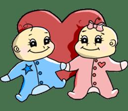 Baby Z sticker #910520