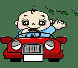 Baby Z sticker #910523