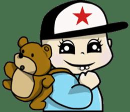 Baby Z sticker #910525