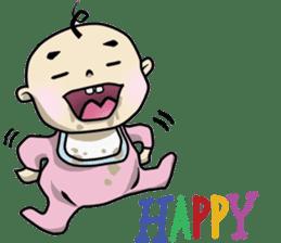 Baby Z sticker #910526