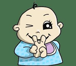 Baby Z sticker #910527