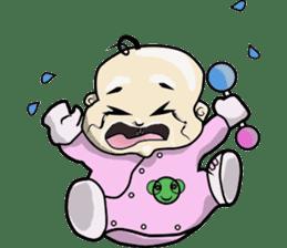 Baby Z sticker #910530