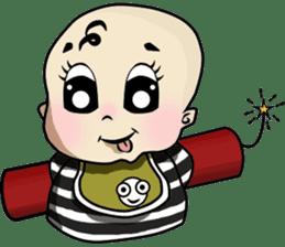 Baby Z sticker #910532