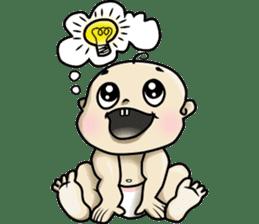 Baby Z sticker #910533