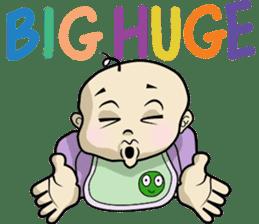 Baby Z sticker #910535