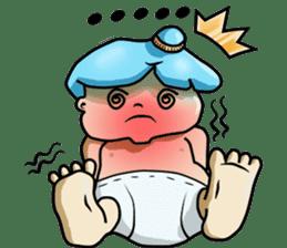 Baby Z sticker #910538