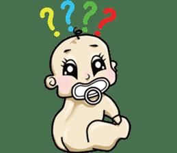 Baby Z sticker #910539