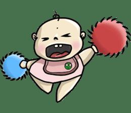 Baby Z sticker #910541