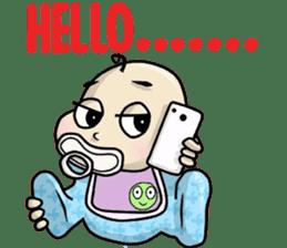 Baby Z sticker #910545