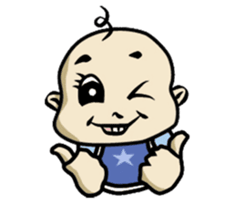 Baby Z sticker #910547