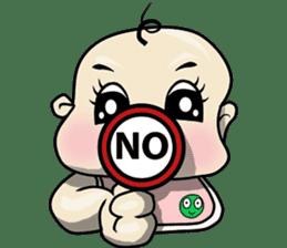 Baby Z sticker #910551