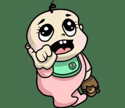 Baby Z sticker #910553
