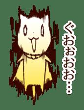 A bad cat sticker #910605
