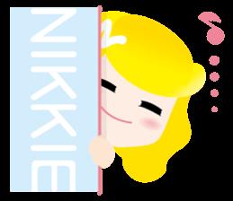 nikkie sticker #910753