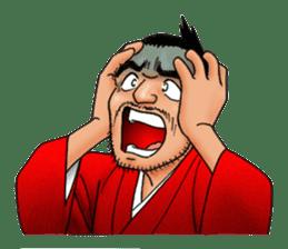 Samurai_Bodyguard Sanjugorobei sticker #911440