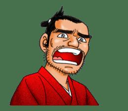 Samurai_Bodyguard Sanjugorobei sticker #911448
