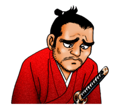 Samurai_Bodyguard Sanjugorobei sticker #911474