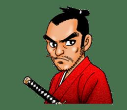 Samurai_Bodyguard Sanjugorobei sticker #911475