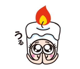 Candle employee sticker #911697