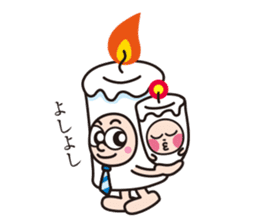 Candle employee sticker #911715