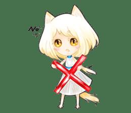 Neko Angora sticker #912680