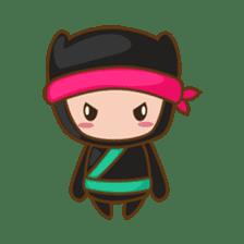 Ryuji, the funny little ninja sticker #916439