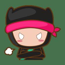 Ryuji, the funny little ninja sticker #916441