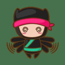 Ryuji, the funny little ninja sticker #916442