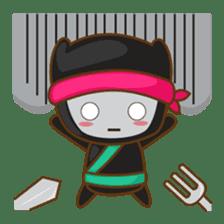 Ryuji, the funny little ninja sticker #916443