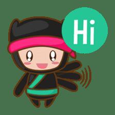 Ryuji, the funny little ninja sticker #916444