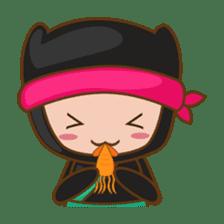 Ryuji, the funny little ninja sticker #916445