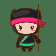 Ryuji, the funny little ninja sticker #916447