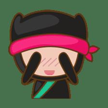 Ryuji, the funny little ninja sticker #916451