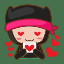 Ryuji, the funny little ninja sticker #916457