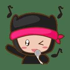 Ryuji, the funny little ninja sticker #916460