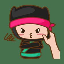 Ryuji, the funny little ninja sticker #916461