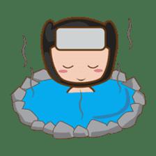 Ryuji, the funny little ninja sticker #916462