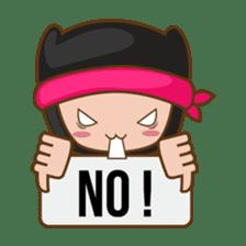 Ryuji, the funny little ninja sticker #916464