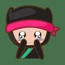 Ryuji, the funny little ninja sticker #916467